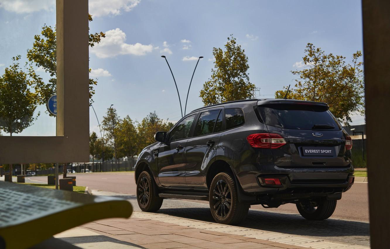 Фото обои Ford, Sport, Everest, 4WD, пятидверный, 2021
