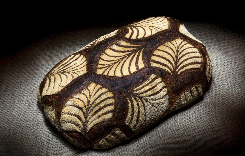 Фото обои узор, хлеб, мешковина, булка, мука