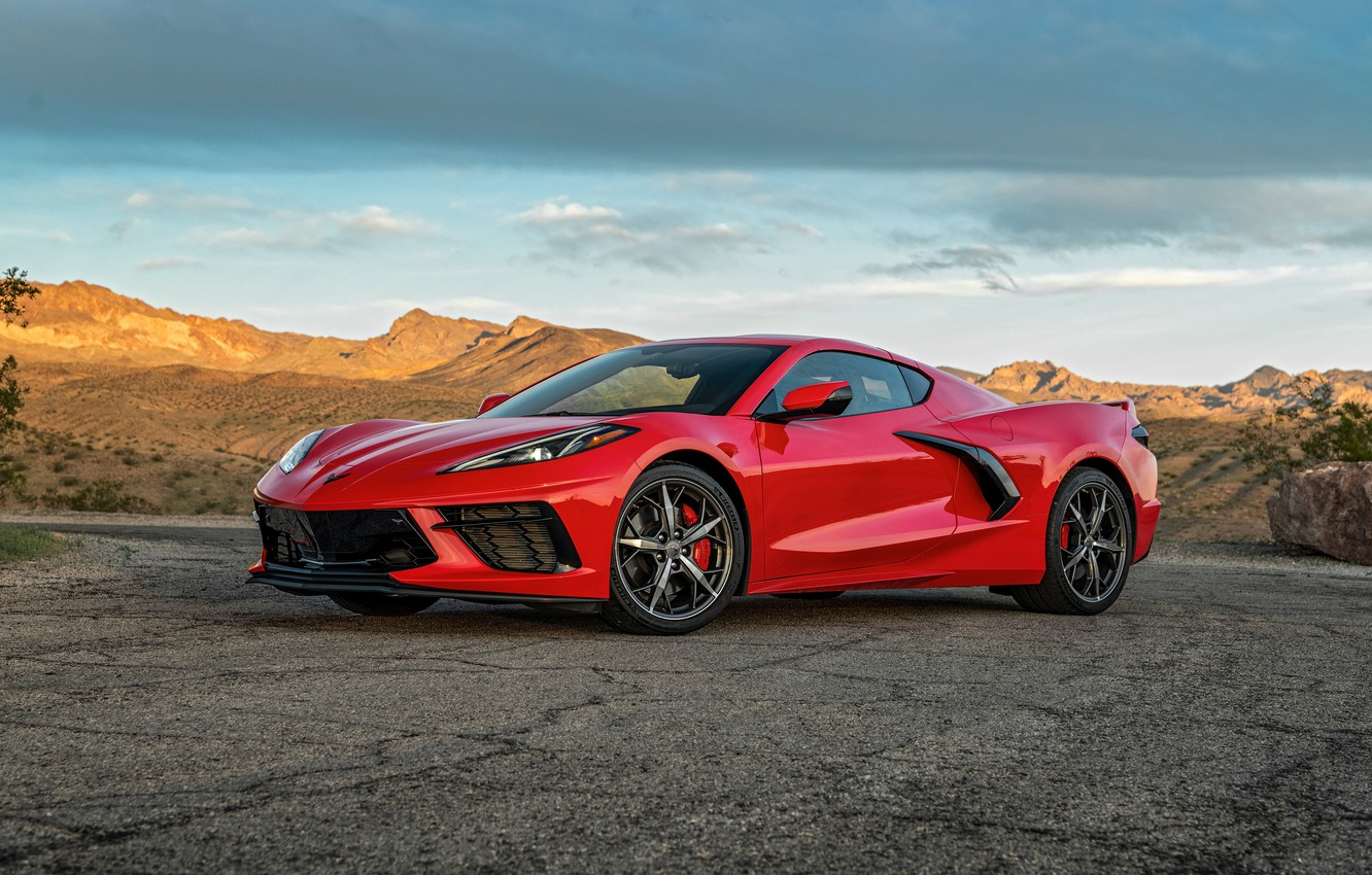 Фото обои Corvette, Chevrolet, 2020, Stingray Z51