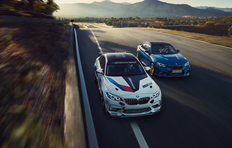Фото обои Мюнхен, БМВ, Munich, гоночный автомобиль, 2019, BMW M2 CS Racing, BMW M Customer Racing, motorsport …