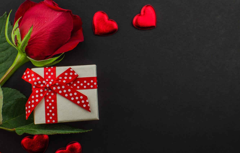 Фото обои подарок, шоколад, розы, конфеты, сердечки, красные, red, love, flowers, romantic, hearts, chocolate, valentine's day, roses, …