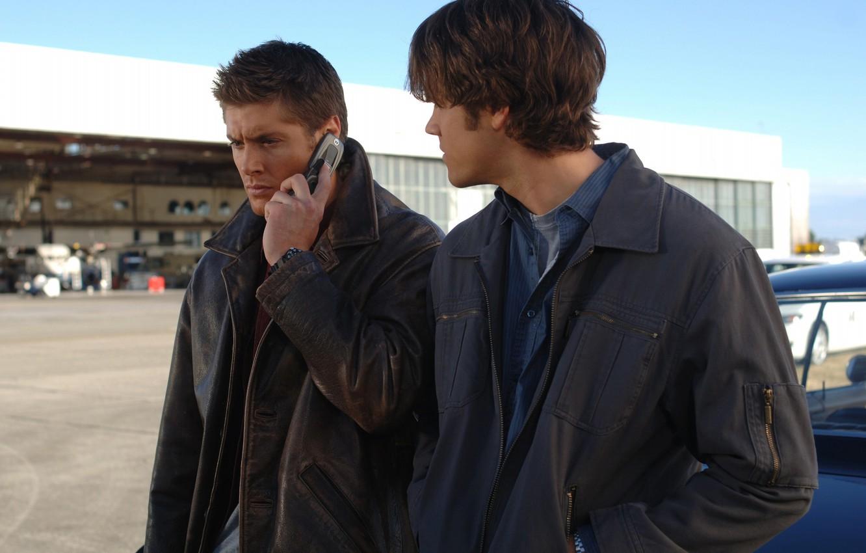 Фото обои сериал, Дин, Supernatural, Сверхъестественное, Сэм