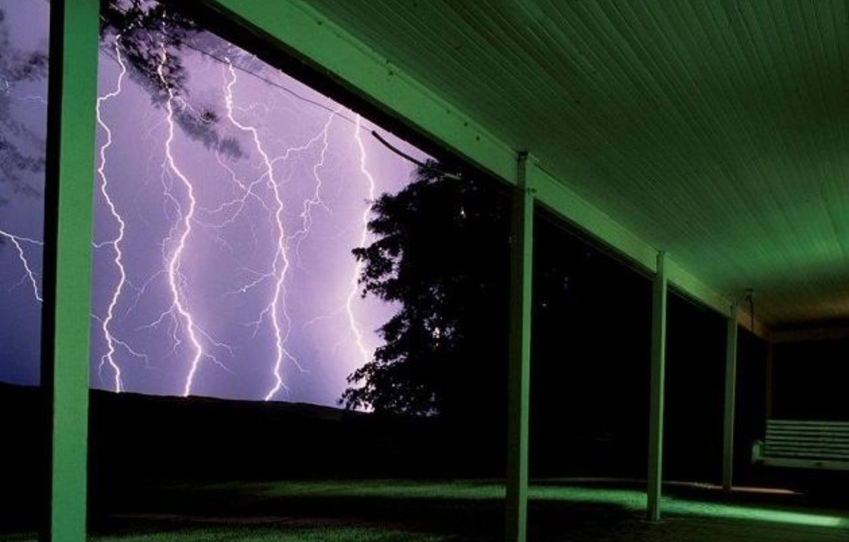 Фото обои landscape, Lightning, nature