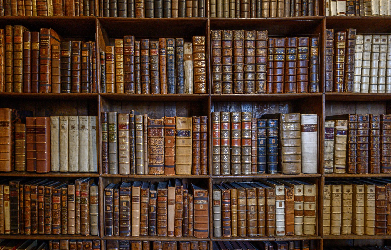 Фото обои Library, Religion, Books, Winchester Cathedral
