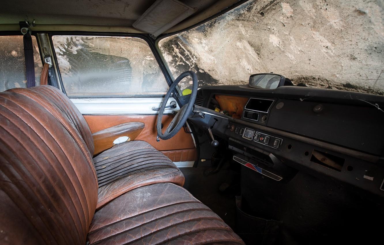 Фото обои машина, руль, лом