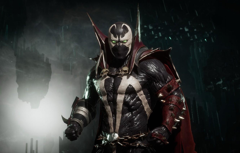 Фото обои Spawn, Спаун, Mortal Kombat 11, MK 11, Смертельная Битва 11