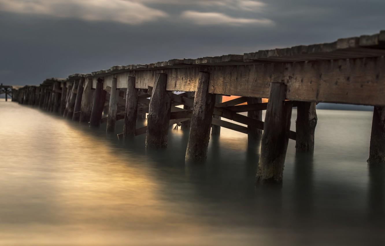 Фото обои мост, Balearic Islands, Alcúdia, Port d'Alcudia