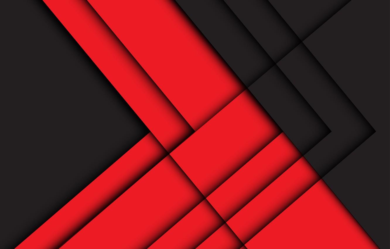 Фото обои линии, красный, черный, геометрия, background