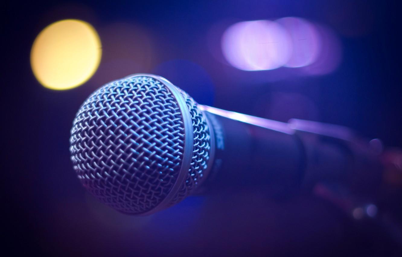 Обои микрофон, фотосессии. HI-Tech foto 13