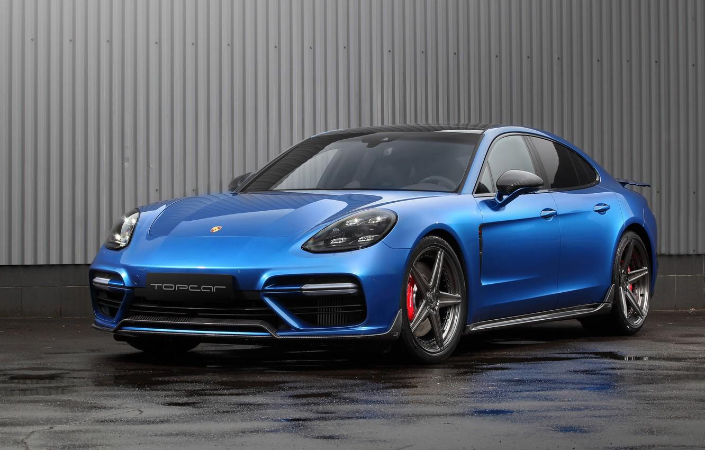Фото обои Porsche, Panamera, Turbo, 2018, TopCar, Edition, Porsche Panamera Turbo, GT Edition, TopCar Porsche Panamera Turbo …