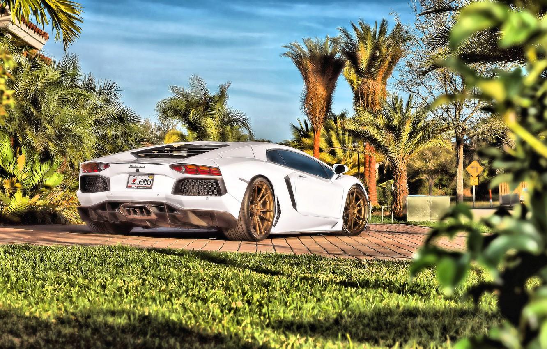 Фото обои Lamborghini, Aventador, Lamborghini Aventador, Ламборгини Авентадор