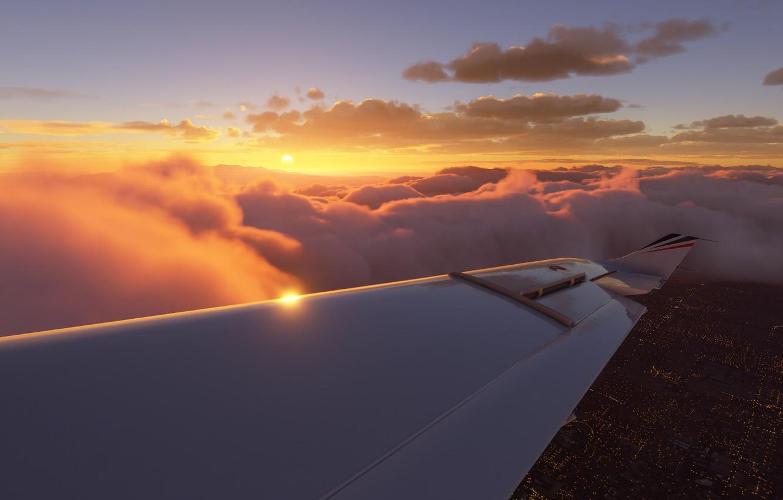 Фото обои flying, planes, aviation, pilot, simulator, preview, gameplay, asobo studio, flight simulation, microsoft flight simulator, fs2020, …
