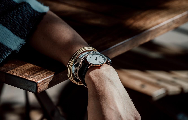 Фото обои фото, часы, рука, браслет