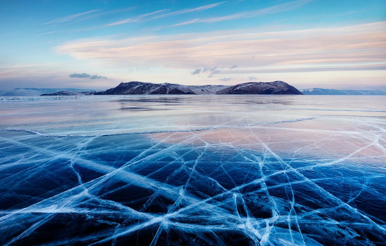 Фото обои холод, море, лёд
