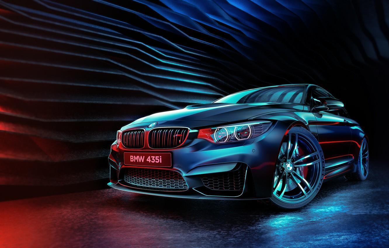Фото обои Авто, BMW, Машина, Стиль, Car, Render, Передок, 435i, Transport & Vehicles, Mohamed Khalil, BMW 435i, ...