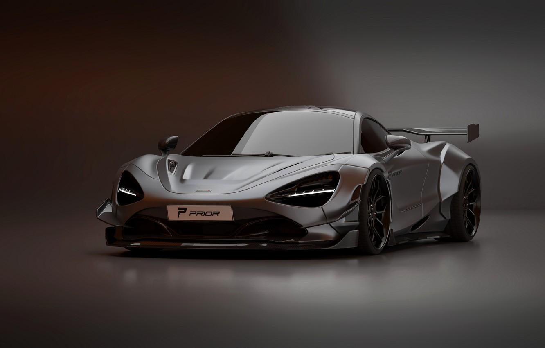 Фото обои McLaren, суперкар, Prior Design, 2020, 720S, widebody kit