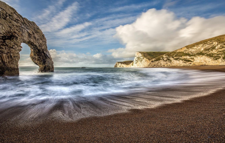 Фото обои вода, природа, побережье