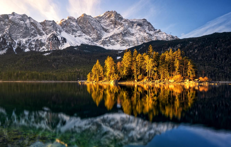 Обои австрия, alps, тироль, austria, tirol, Lake plansee, озеро планзее. Пейзажи foto 11