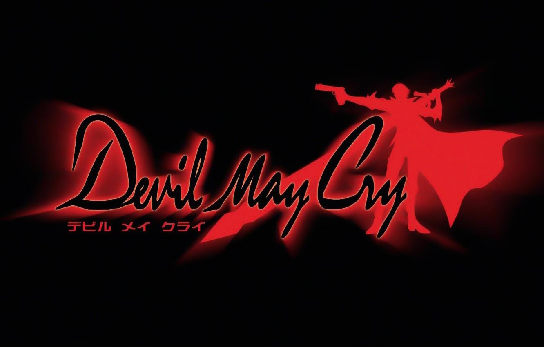 Фото обои logo, DMC, devil may cry, dante