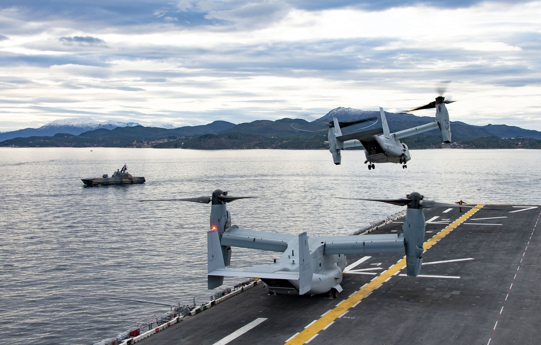 Обои конвертопланы, osprey, Mv-22b. Авиация foto 17