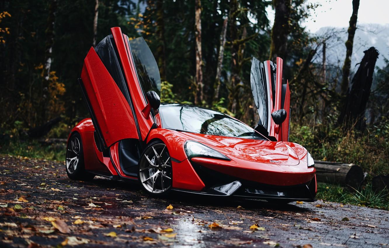 Фото обои McLaren, 570S, McLaren 570S