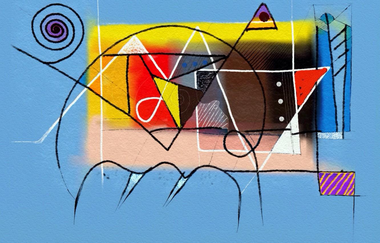Фото обои фон, рисунок, цвет