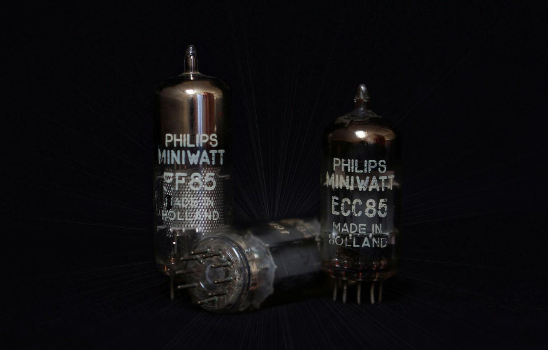Фото обои Philips, radio tube, радиолампы, electron tube