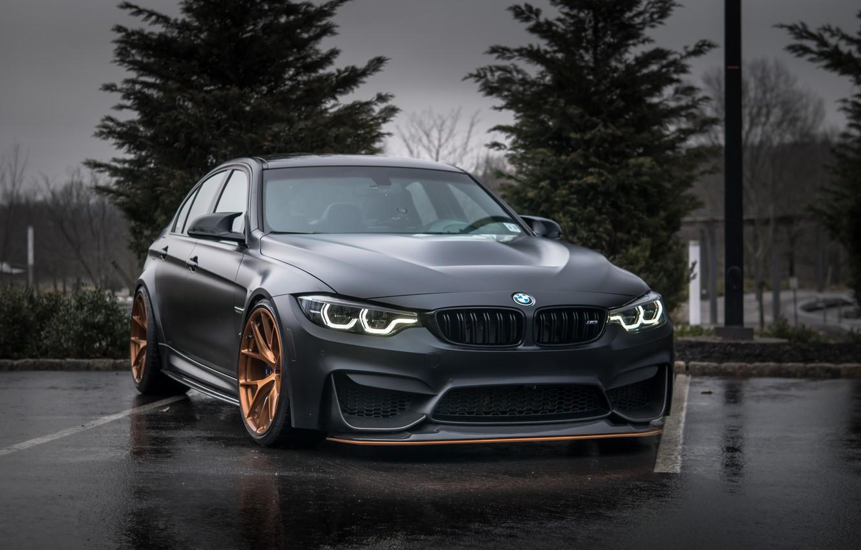 Фото обои BMW, Evening, Gray, F80, Sight
