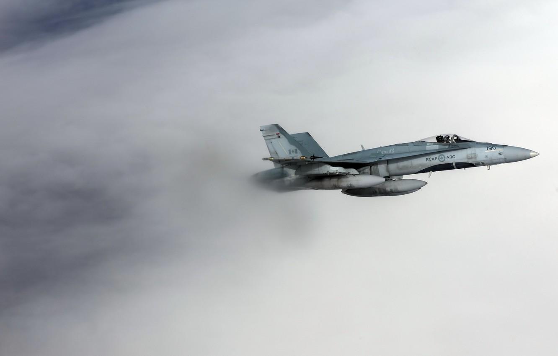 Фото обои оружие, самолёт, CF-18 Hornet, Royal Canadian Air Force