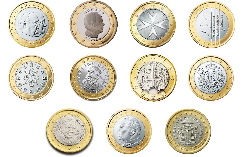 Фото обои деньги, монета, коллекция