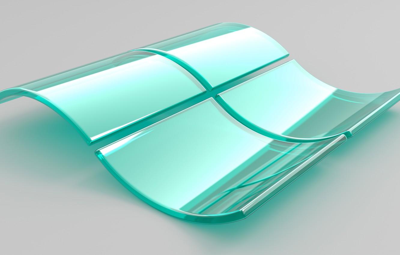 Фото обои логотип, окно, эмблема, windows, объем