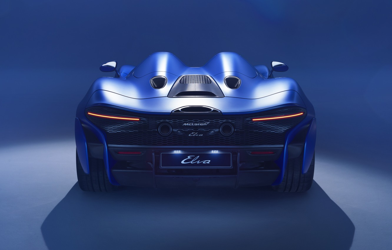Фото обои McLaren, 2020, Elva, McLaren Elva 2020