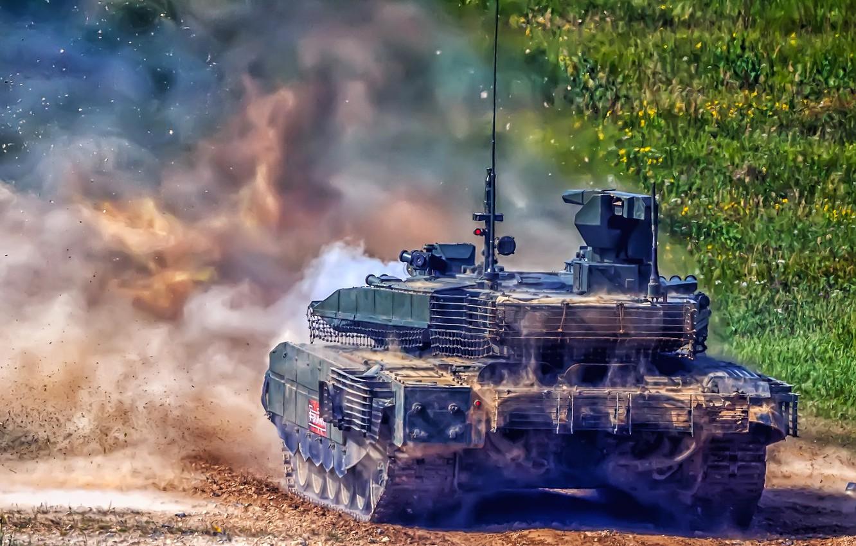 """Фото обои танк, основной боевой танк, T-90M, Т-90М """"Прорыв"""""""