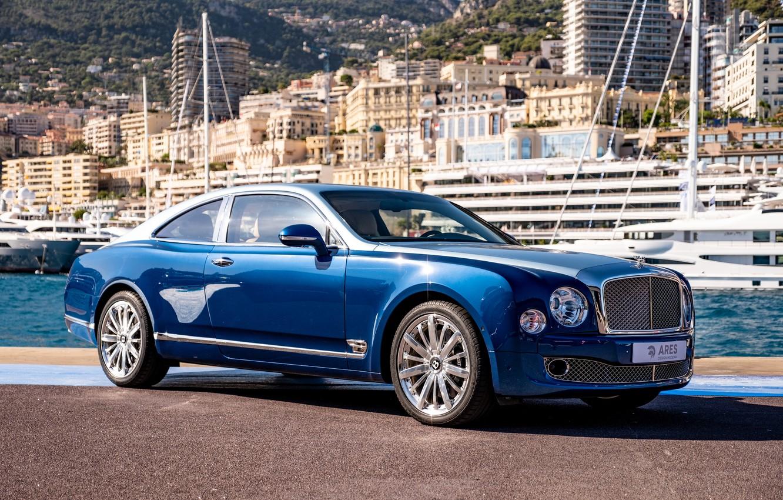 Фото обои Bentley, Coupe, Купе, Mulsanne, Ares Design