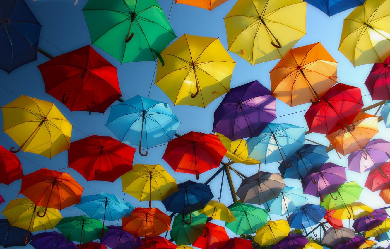 Обои зонты. Настроения foto 7