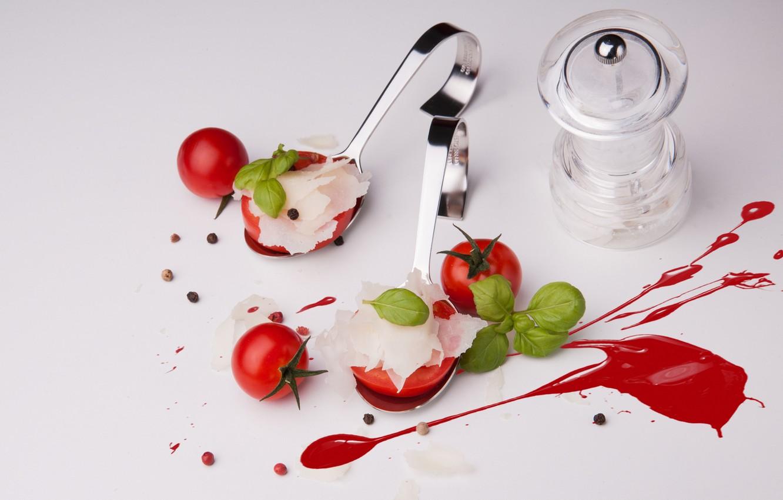 Фото обои натюрморт, помидоры, томаты