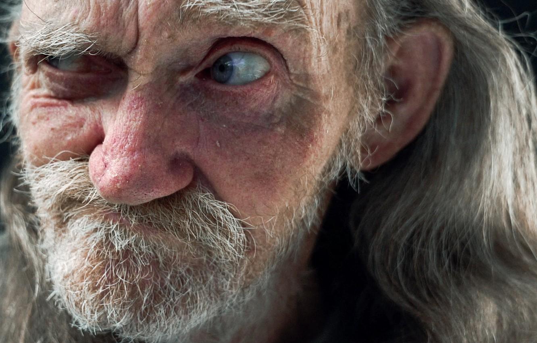 Фото обои глаз, человек, портрет