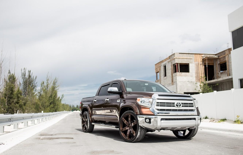 Фото обои Japan, Toyota, Pickup, Tundra, Bronze
