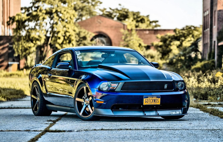 Фото обои Mustang, Ford, Ford Mustang