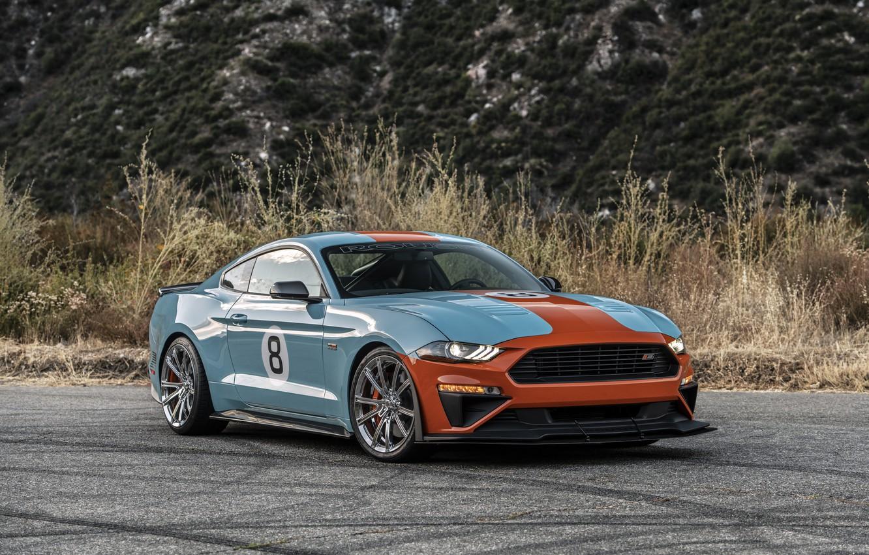 Фото обои машина, Mustang, Ford, Roush, Performance Stage 3