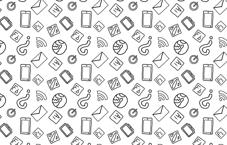 Фото обои world, minimal, white, dota, black, minimalism, photoshop, icon, illustrator, smartphone, monitor, illustration, wife, mail, power …