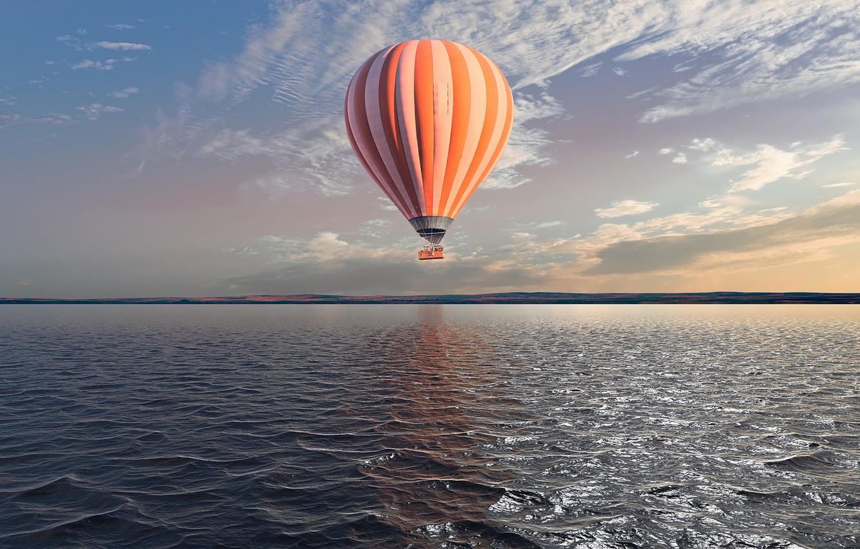 Обои воздушные шары, Облака, аэростаты, Монгольфьеры. Авиация foto 9