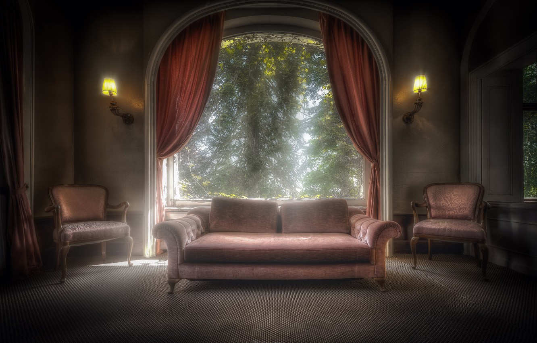 Фото обои дом, диван, кресло