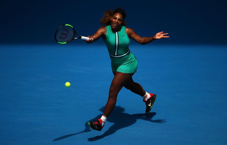 Фото обои Williams, Legend, Tennis, WTA, Serena, Serena Williams, Australia Open 2019