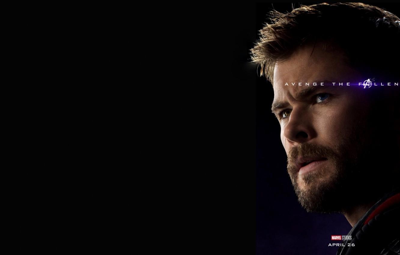 Фото обои Тор, Крис Хемсворт, Avengers: Endgame, Мстители Финал, Терпилы Таноса