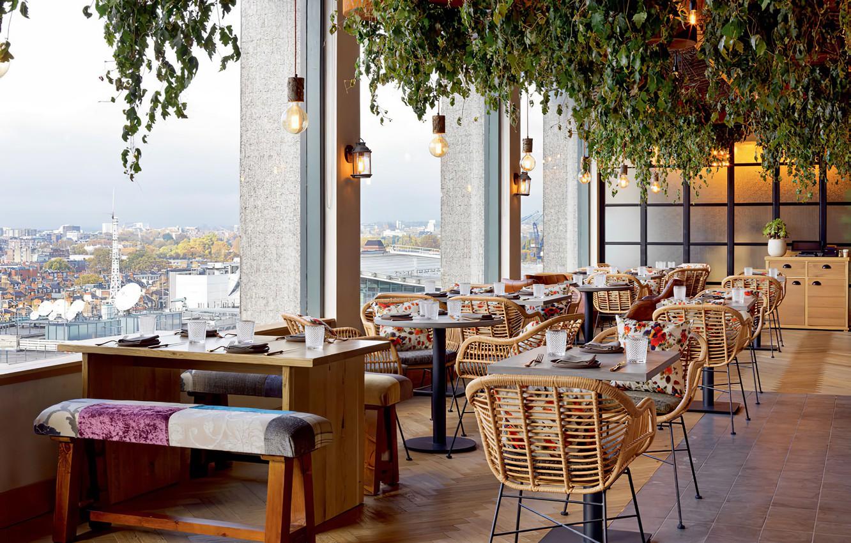 Фото обои view, restaurant, interieur