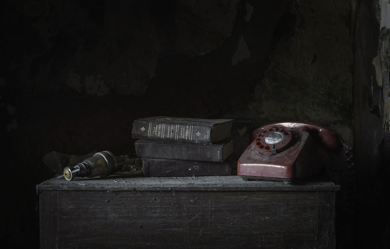 Фото обои фон, книга, телефон
