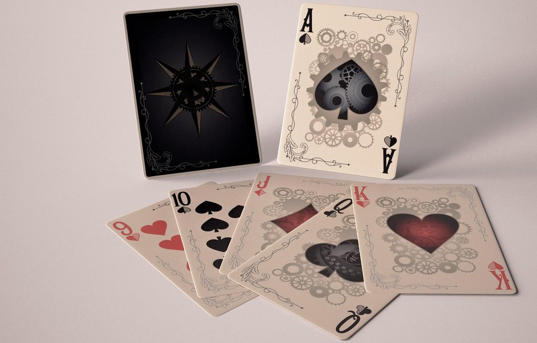 Фото обои карты, игра, покер, казино