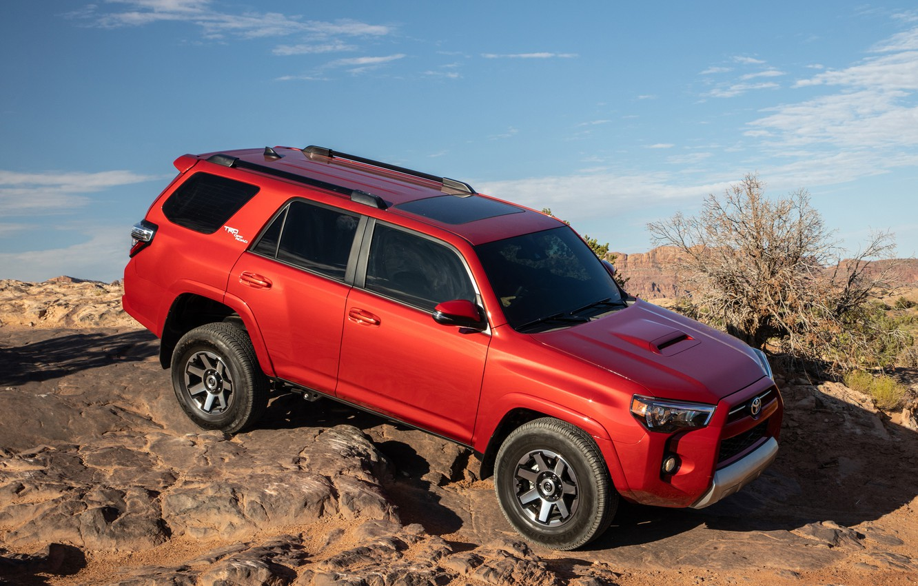 Фото обои Toyota, SUV, TRD, Off-Road, 2020, 4Runner