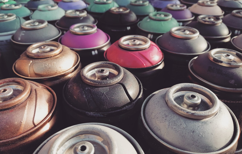 Фото обои цвета, стиль, ретро, граффити, краска, арт, graffiti, style, retro, art, 1970, рисование, расцветка, процесс, color, …